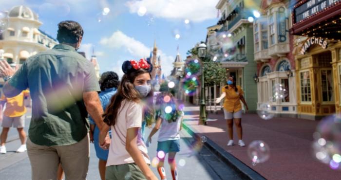 Disney during Covid